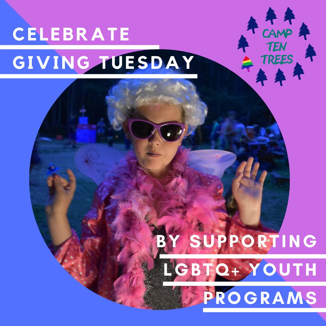 Happy #GivingTuesday!!! Want to support local LGBTQ+ youth programs? Share and donate what you can to our fundraiser! https://t.co/1CZSkq6EPJ https://t.co/ZrXugk033o