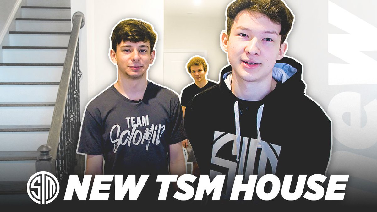 Come take a peek into how our Fortnite East boys are living! New #TSM House Tour with @TSM_Vinny1x, @TSM_ZexRow, and @MackWood1x 😎 ⚫: youtu.be/JzUESVJEf7g