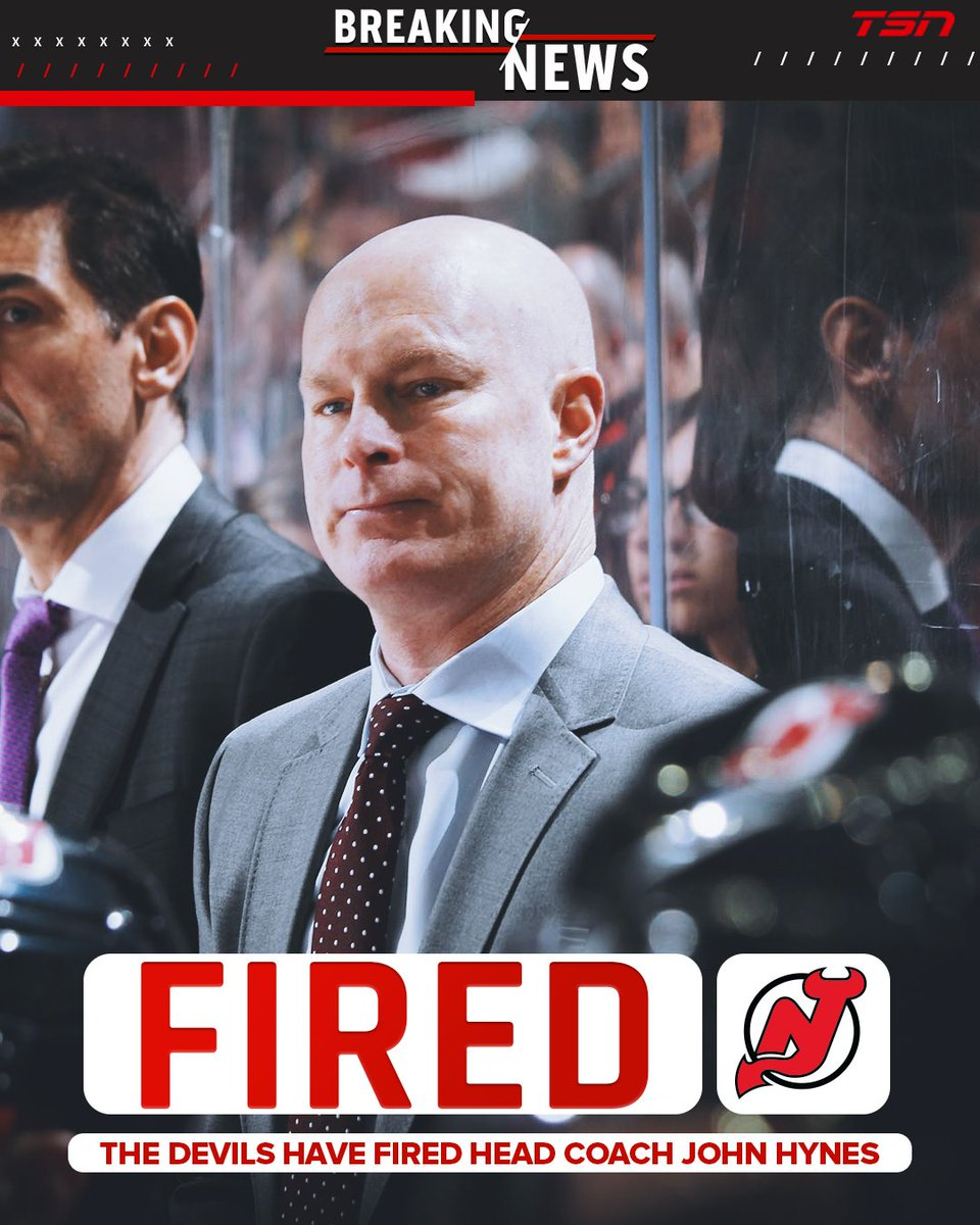 Devils fire Hynes day after Sabres rout.  MORE:  https://www. tsn.ca/new-jersey-dev ils-fire-head-coach-john-hynes-1.1407603   … <br>http://pic.twitter.com/bHTJolcy6N