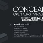 Image for the Tweet beginning: Conceal ID is now live!
