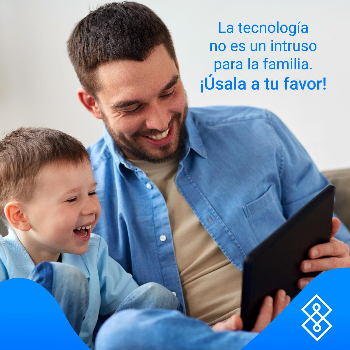 """El uso y el tiempo de la tecnología es uno de los principales conflictos para el 74% de las familias, aunque seis de cada diez reconoce que """"las pantallas están teniendo un papel favorable en la gestión de la actividad familiar""""  Con #UnioApp puedes evitarlo. ¡Descárgalo ahora! https://t.co/a4rnwot4lr"""