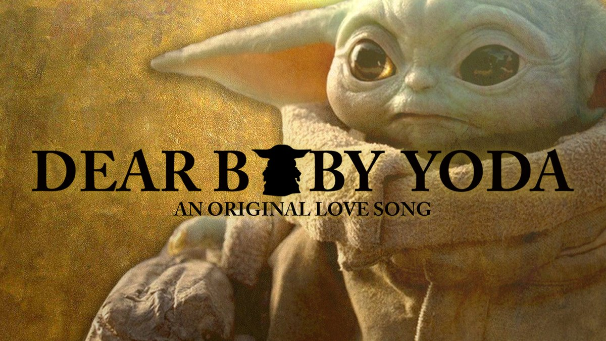 "Join @IsaacKLee and @jga41agher of Ice2Ice for ""Dear Baby Yoda,"" inspired by #TheMandalorian's frog-eating cutie pie, and based on ""Dear Theodosia"" from 'Hamilton'"
