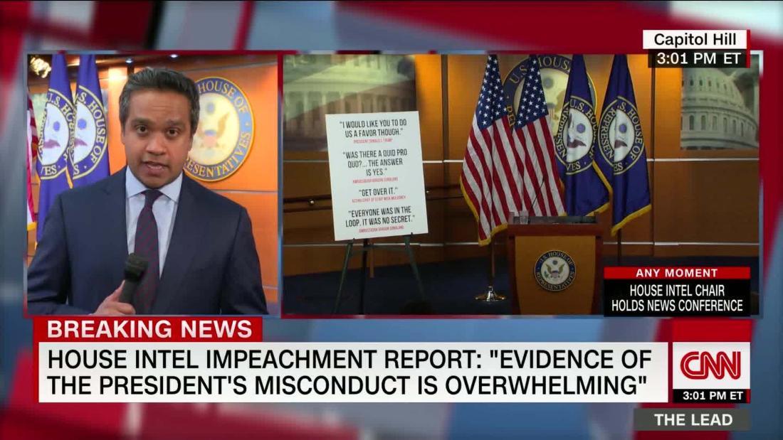 House intel report accuses Trump of misconduct, obstruction @mkraju reports cnn.it/2DJ97zm