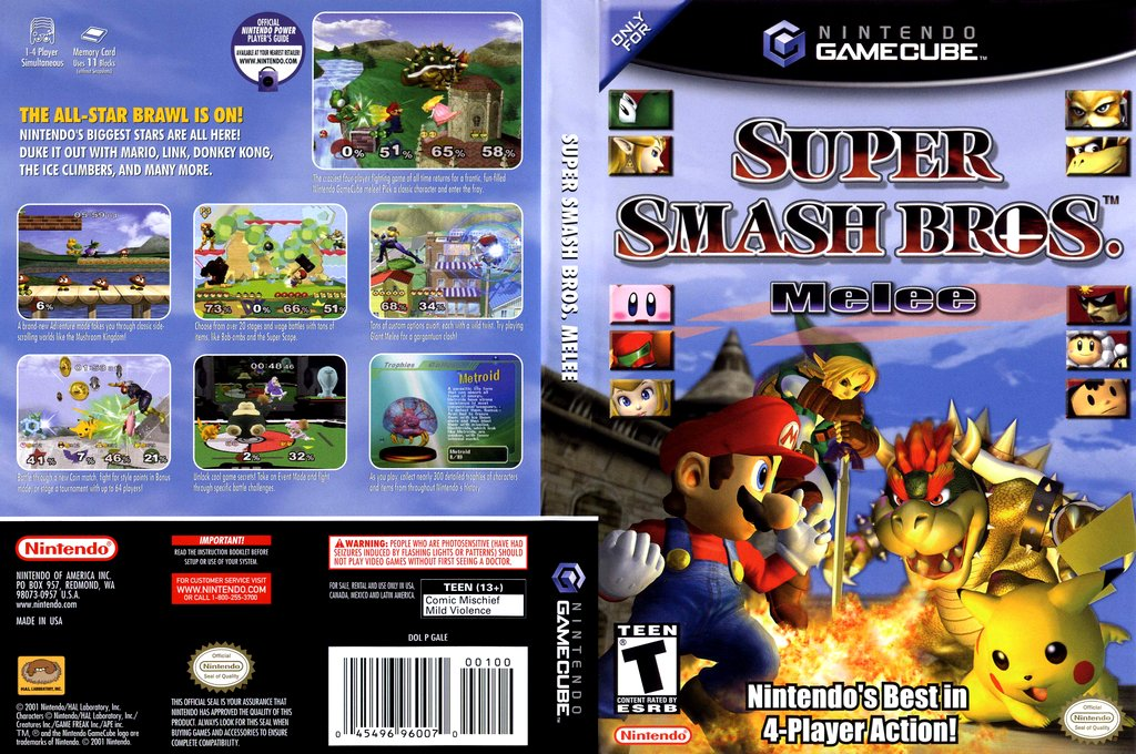 Super Smash Bros. Melee was released in North America 18 years ago today. Who was your go-to fighter? 🎮