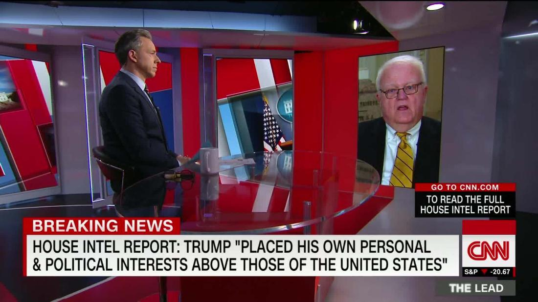 .@JimPressOffice: President not above law 'but they shouldn't be below the law either' cnn.it/2RgpCen