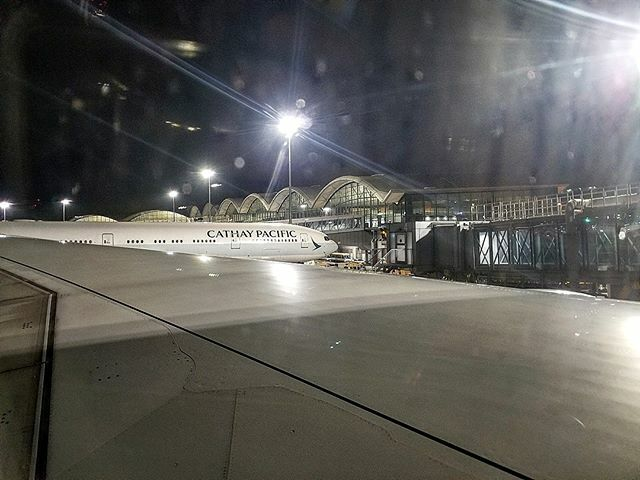 On the ground after an epic 15.5 hour flight from DC to Hong Kong!  #BehradTravels  #CathayPacific #A350900 #Airbus #HongKongAirport  https:// ift.tt/34KFs4I     <br>http://pic.twitter.com/TCnLlMeiyM