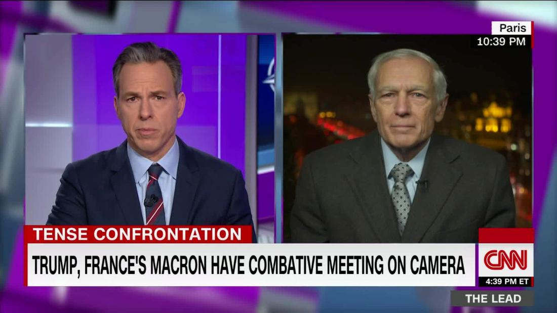 .@GeneralClark: Trump's public clash with Macron should've been private cnn.it/2Lf6N7x