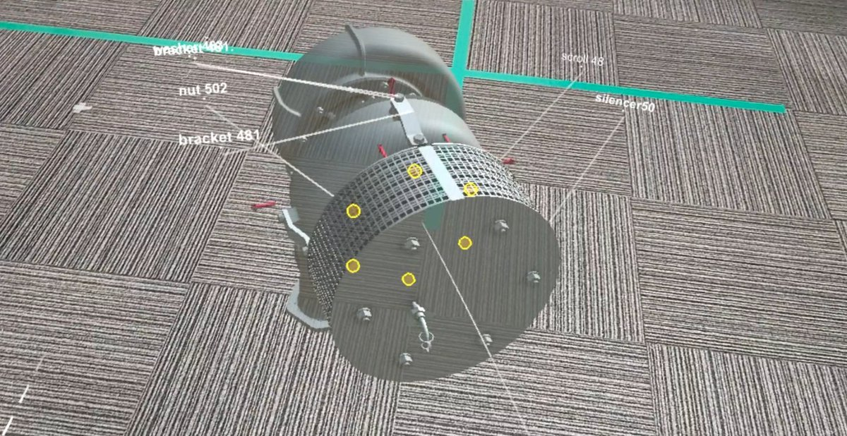 ホロラボが三菱重工マリンマシナリ向けに最新MRデバイス HoloLens 2 を使用した過給機メンテナンストレーニングア...