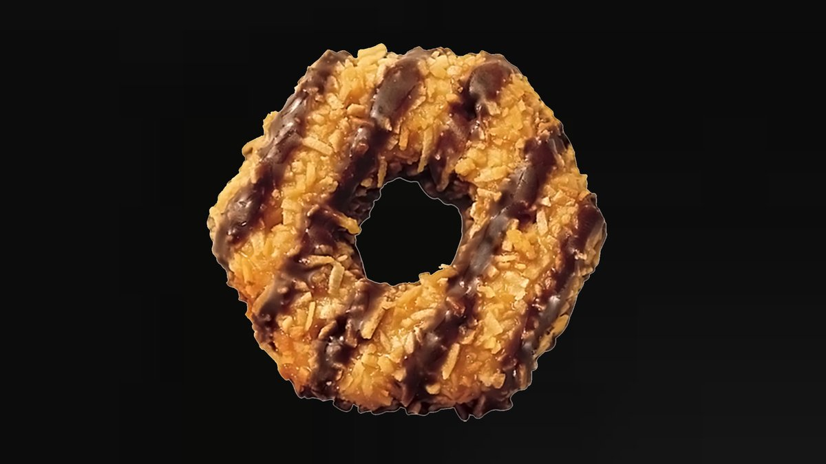 If this isn't your favorite Girl Scout cookie then you're a psychopath