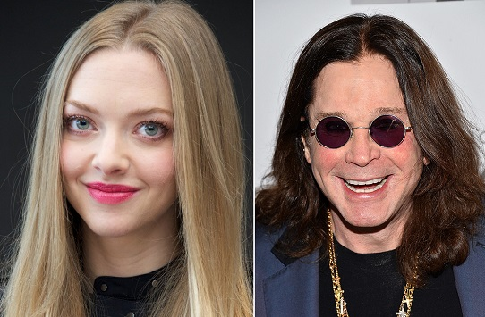HAPPY BIRTHDAY !   Amanda Seyfried   and   Ozzy Osbourne