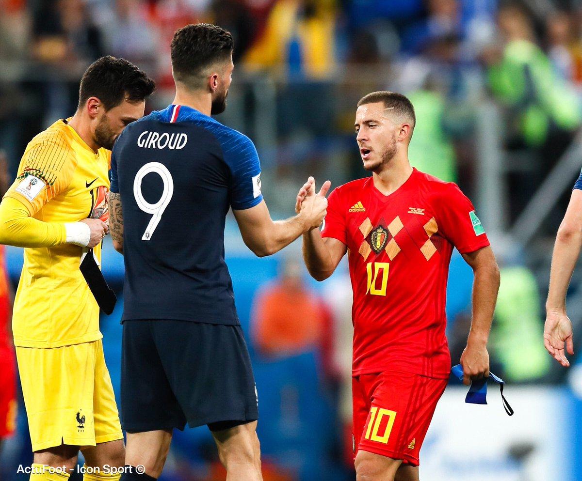 🔴 La Fédération belge a annoncé quil ny aurait pas de match amical entre la France et la Belgique en préparation de lEuro 2020. Daprès @lequipe, Roberto Martinez craint de perdre la première place au classement FIFA en affrontant léquipe de France.