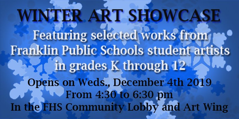 FPS Annual Winter Art Showcase opens Dec 4 at 4:30 PM