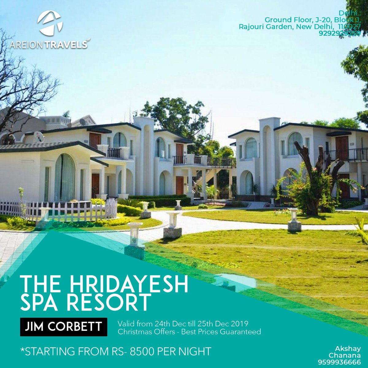 Experience luxury in wilderness with The Hridayesh Spa Resort at Corbett.   Nestled amongst the green expanse, this resort is an oasis of tranquility. Get best deals ever for this property with Areion Travels.  #Travel #AreionTravels #Corbett #CorbettNationalPark #ExploreTheWild pic.twitter.com/mFMF4AIAVf