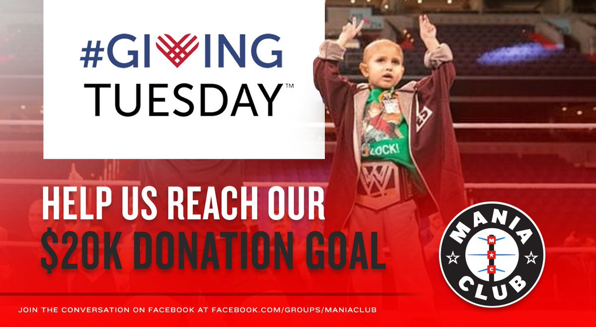 #GivingTuesday is almost up, but we're in the fight against childhood cancer with @ConnorsCure and @TheVFoundation 24/7 365 days a year. Join us in the fight.Donate here: http://jimmyv.convio.net/site/TR/DIY/General?team_id=3550&pg=team&fr_id=1530 …#BelieveInTheFight #ManiaClub