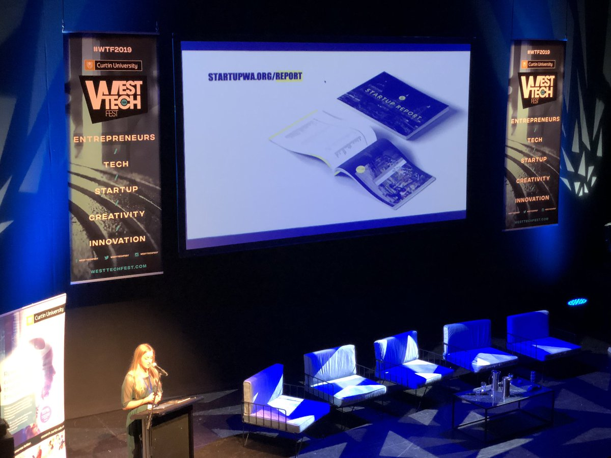 A few of the highlights from @Startup_WA 2019 Ecosystem Report being launched at #WTF2019 pic.twitter.com/03HB60x2jD