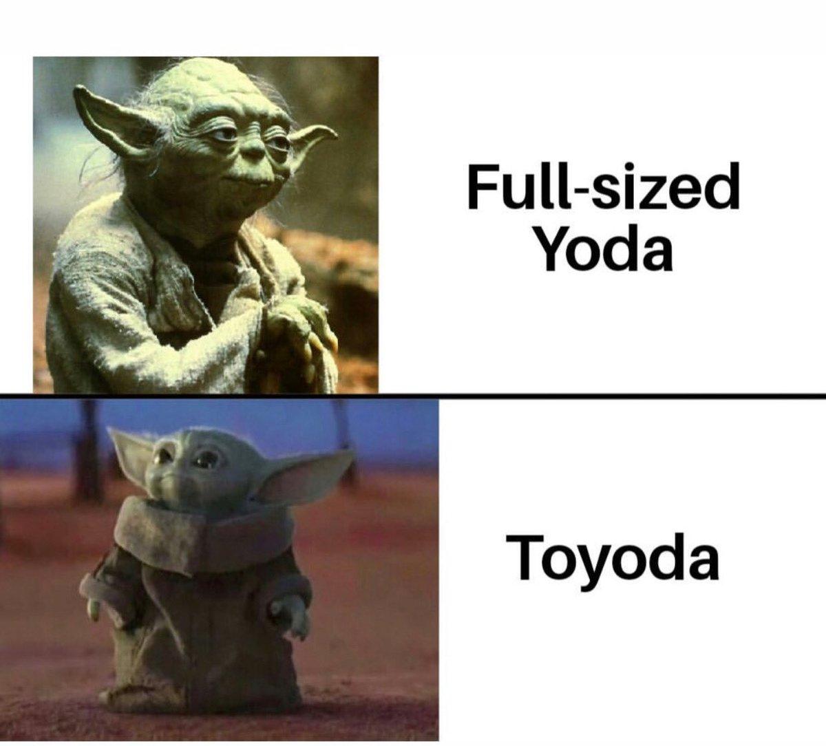 Replying to @BMS_Billy: Yoda!!!! #Yoda #babyoda #Toyoda #BMS #Billy