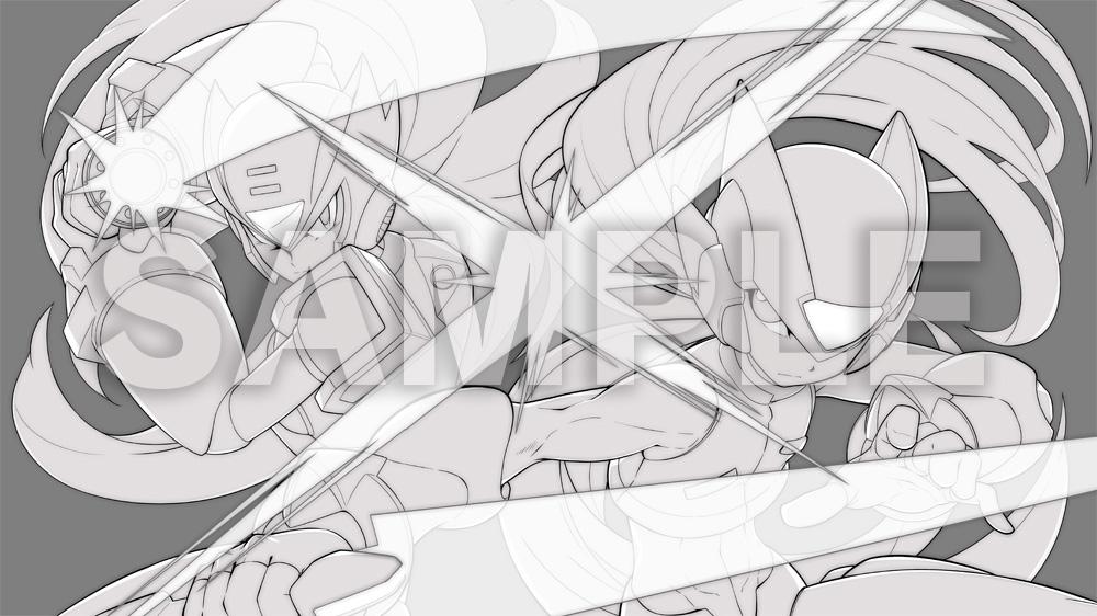 『ロックマン ゼロ&ゼクス ダブルヒーローコレクション』「ロックマンX」のデザイナー水野佳祐氏によるオリジナル...