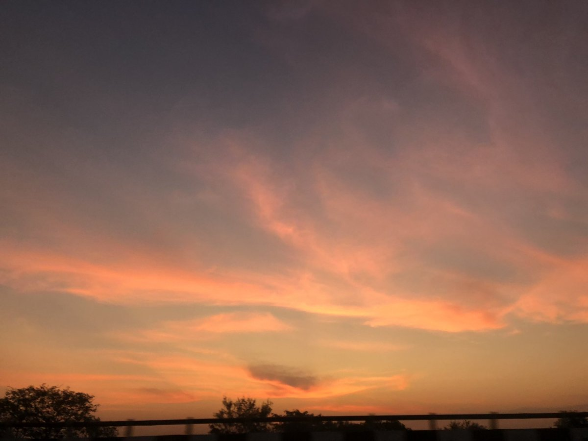 Delhi sky at 6 am today. Such gorgeousness!