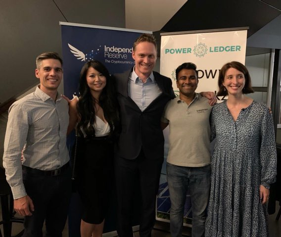 Great to kick off the @WestTechFest in Perth last night, with @BlockchainAUS @S2MDigital National #Crypto Roadshow. Had the pleasure of moderating the panel with our crew from @indepreserve @PiperAlderman @PowerLedger_io and @DigitalXLtd. #WTF2019 #blockchainpic.twitter.com/LGFBZBlEGN
