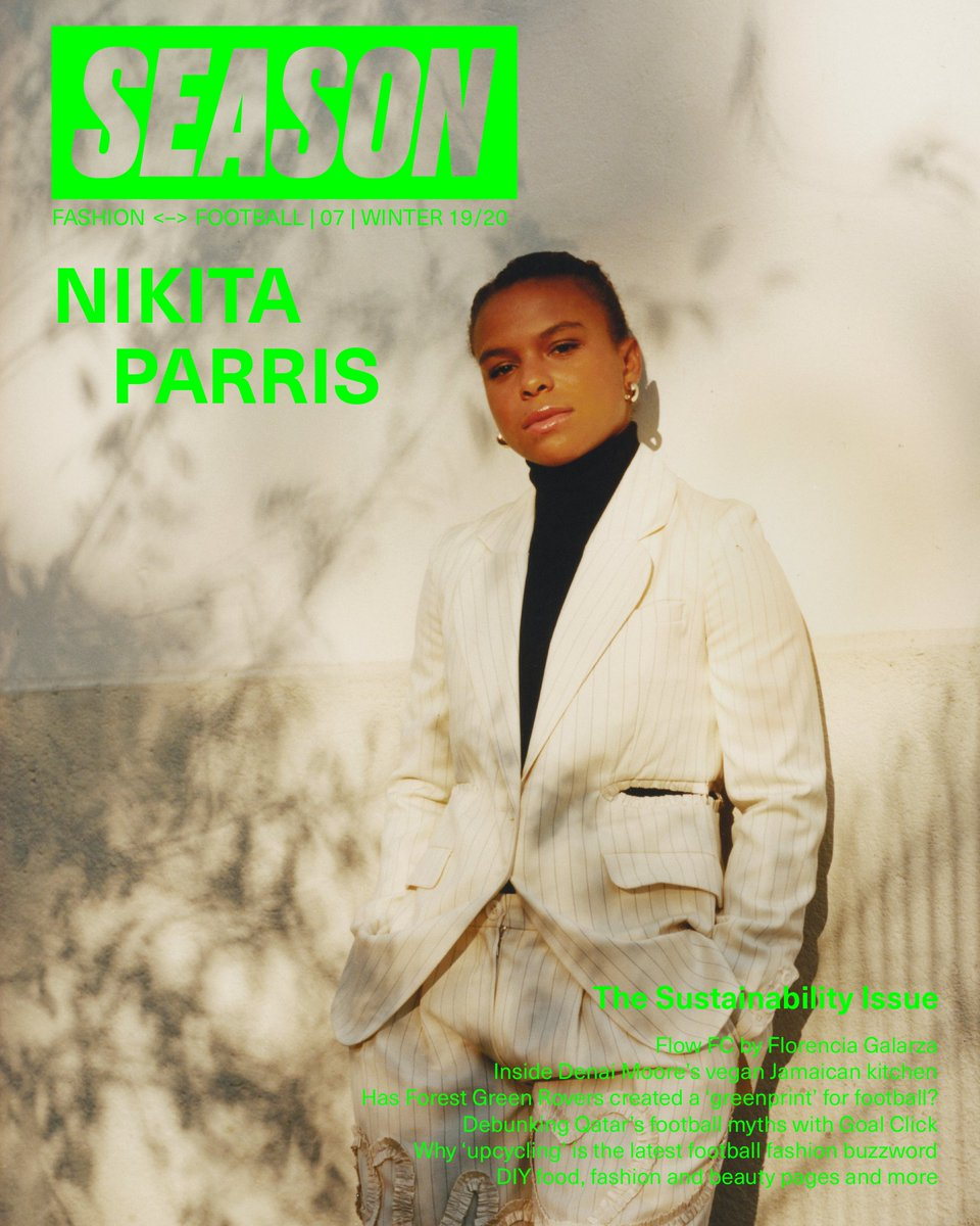 Cover star alert! EXCITED to share @lilkeets' cover for #SEASON07 : The Sustainability ISSUE. Pre-order it now on http://season-zine.com  Photography Elliot James Kennedy, Creative Direction @feliciapennant, Styling Rickardo Mattocks-Maxwell #NIKITASEASON