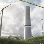 Image for the Tweet beginning: Swedish company is building wind