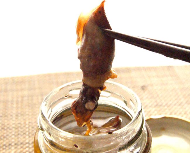 ブログ更新!その名前が全てのホタルイカ燻製オイル漬け⇒ お家で本格的なホタルイカのアヒージョが食べられるよ|д゚)