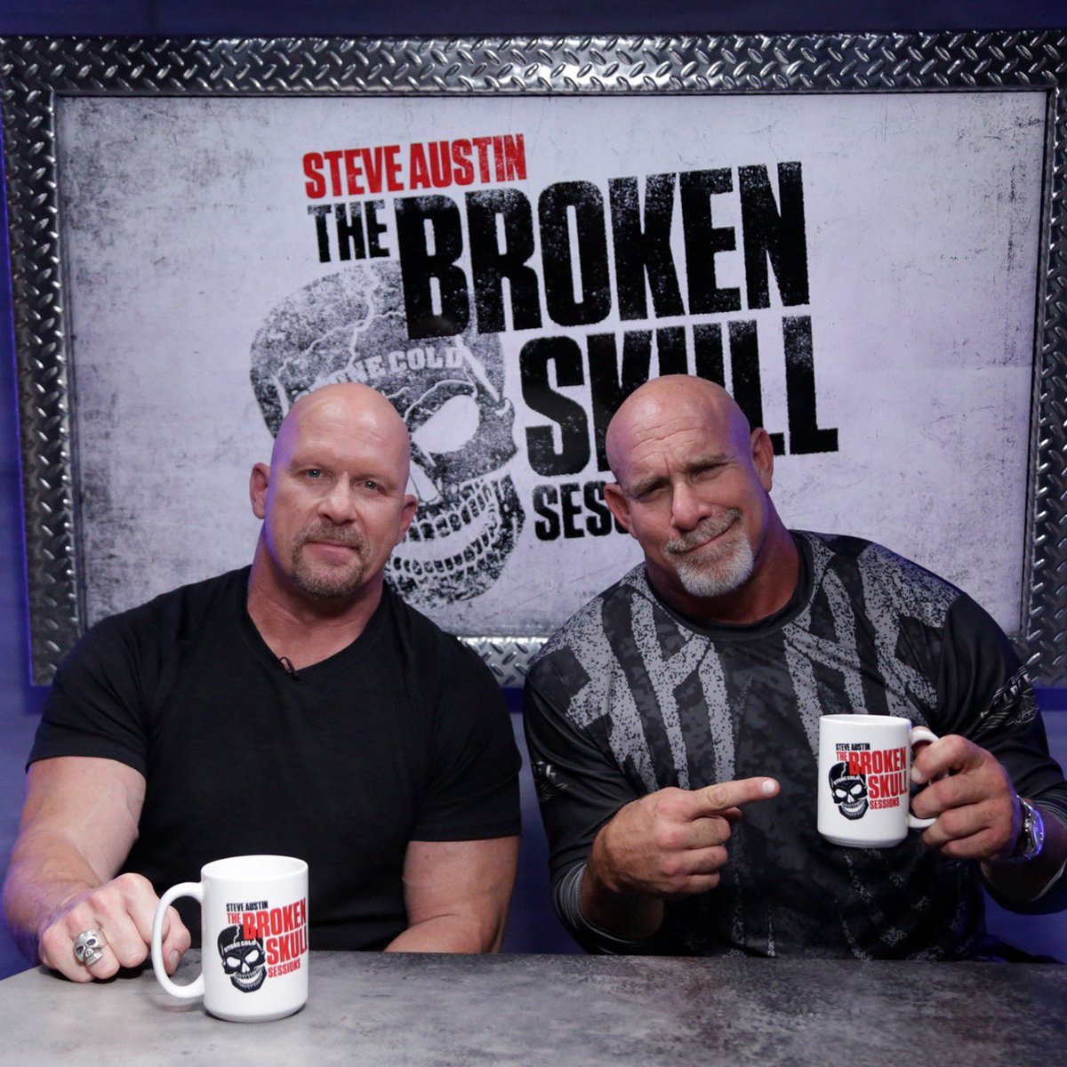 Can't wait for this 👇👇👇Goldberg. Stone Cold. RIGHT AFTER WWE TLC on December 15. 💀💀💀@Goldberg @steveaustinBSR #BrokenSkullSessions