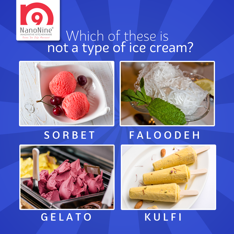 Can all the foodies guess the correct answer?  Guess the simple question and Get a chance to win exciting #NanoNine goodies.  #ContestAlert #Join #Participate #Win #Tag #Share #Follow #FoodQuiz