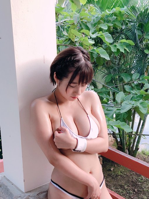 グラビアアイドルヴァネッサ・パンのTwitter自撮りエロ画像8