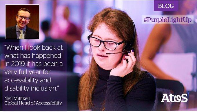 Atos hat @Valuable500 unterzeichnet und ist damit beim Thema #Disability Inclusion ein...