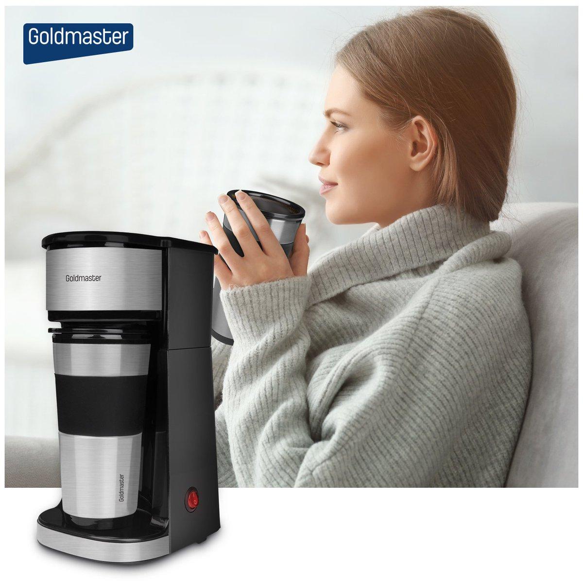 Termoslu seyahat bardağı ile birlikte evde, ofiste, yürüyüşte ve sporda keyifle yudumlamanız için leziz kahveler yapan Perfectto Kahve Makinesi sizinle! #goldmaster #mutfakesyası #kahve #filtrekahve #filtre #fitrekahvemakinası #kucukevaletleri #mutfak #indirim #ceyiz https://t.co/V4qFVGopZy