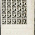 Image for the Tweet beginning: Postzegelveilingen tonen altijd interessante items.