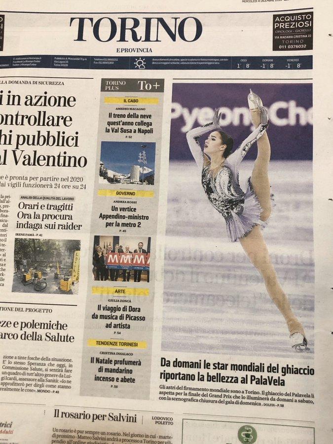 ISU Grand Prix of Figure Skating Final (Senior & Junior). Dec 05 - Dec 08, 2019.  Torino /ITA  - Страница 3 EK7ckVAXYAAbCYh?format=jpg&name=900x900