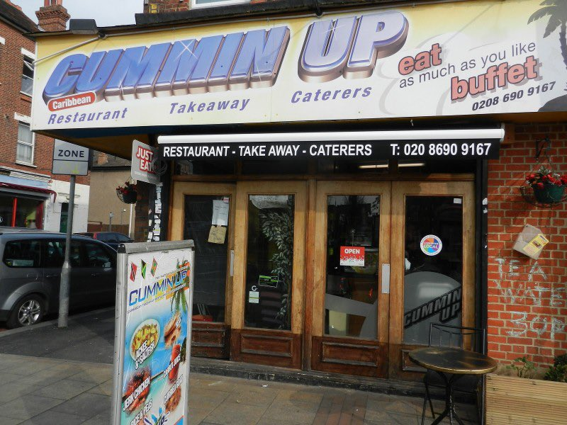 It's that time again... Lonely? Things a bit tight? Cummin up for the 11th year will offer a free meal christmas day, Turkey to Jerk chicken,Brussels to mince pies! 389 Lewisham high street Se13 6NZ near hospital. 1pm until 6pm,ALL WELCOME help spread the LOVE. <br>http://pic.twitter.com/PH93SiWLhJ