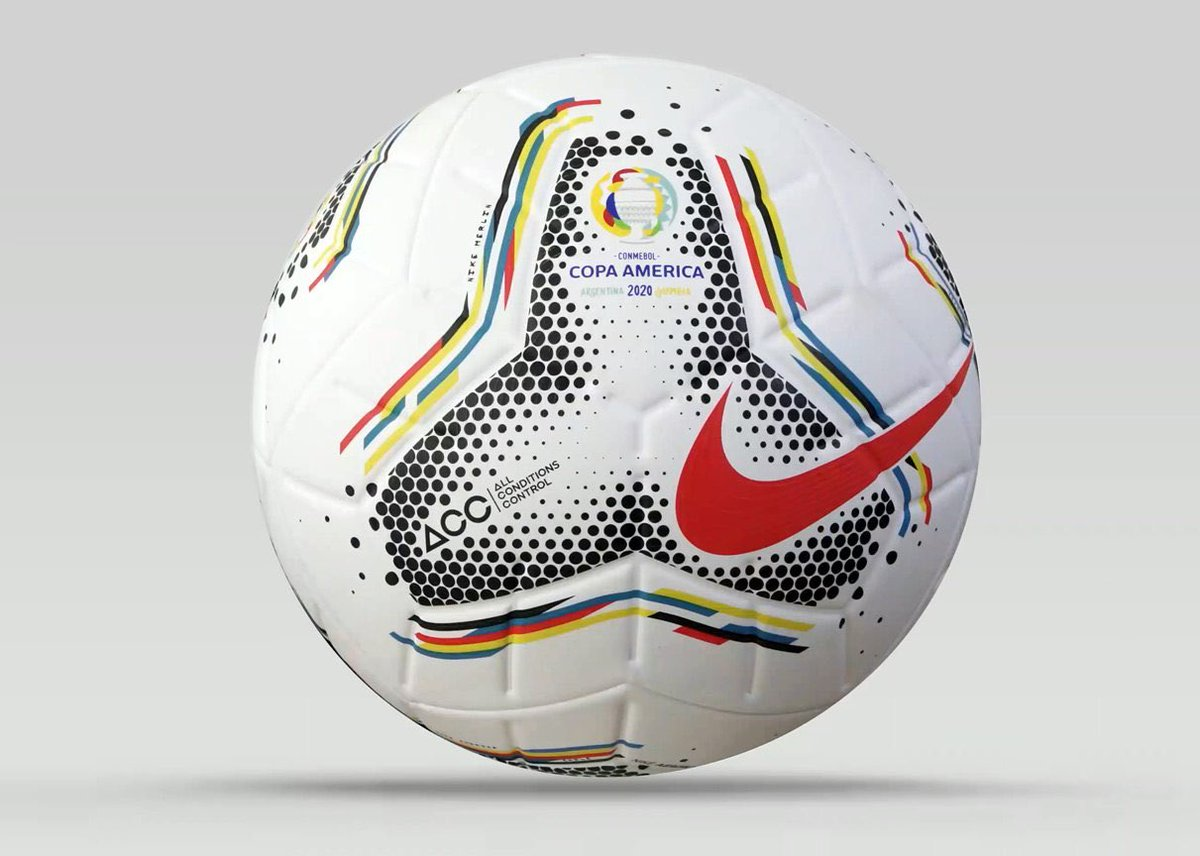 OFFICIEL ! Le ballon qui sera utilisé pour la Copa America 2020 a été dévoilé cette nuit.
