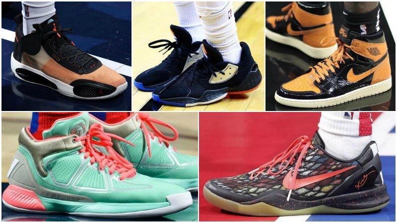 球鞋匯 | NBA球員今日球鞋上腳:東契奇穿PG 3,詹姆斯17代又有新配色!