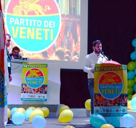 Emanuela Munerato e Fabio Benetti portano il Parti...