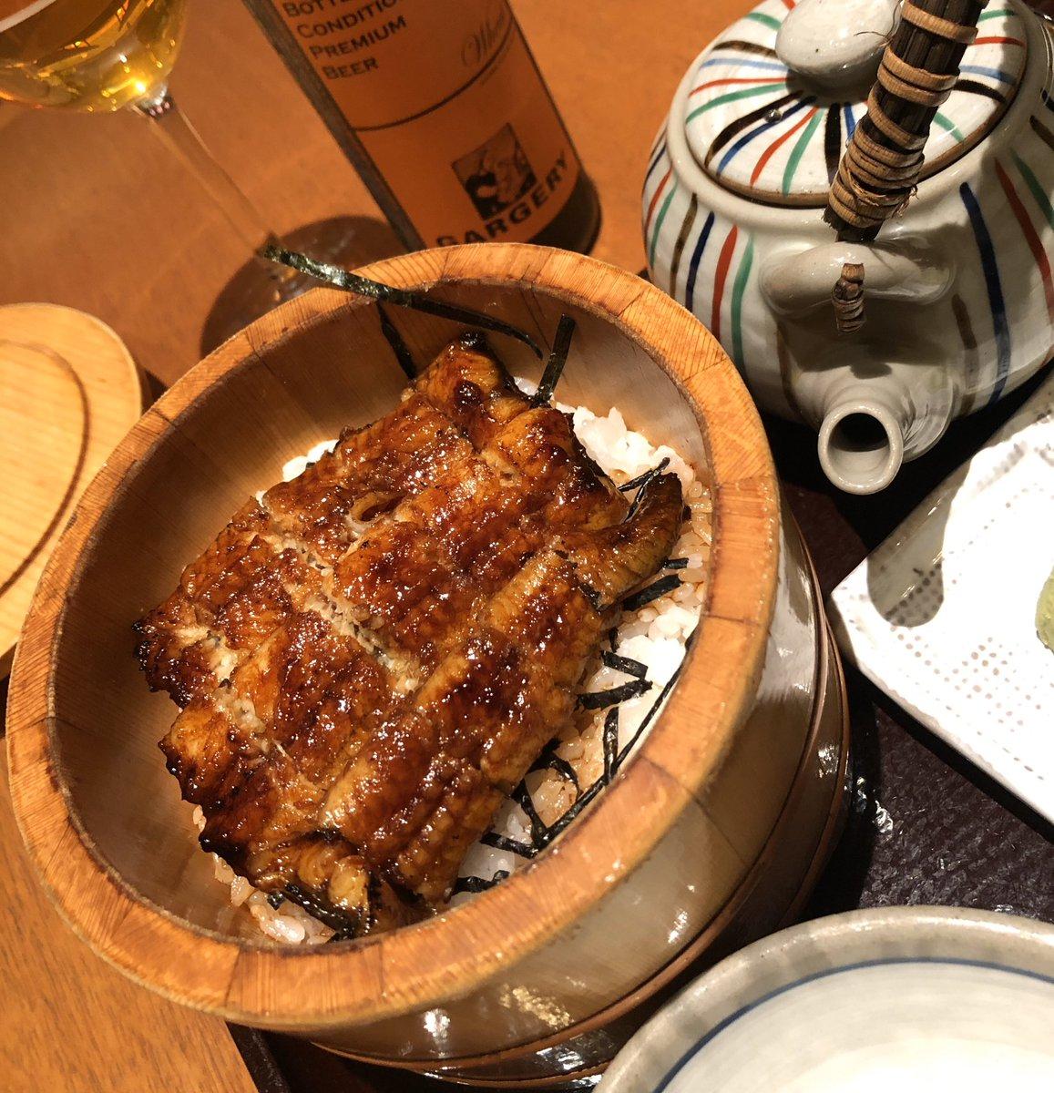 なかなか鼻風邪が治らないので止むなく精をつけに渋谷ヒカリエ6階でこれです。うなぎ茶漬けにガージェリー(^ ^)