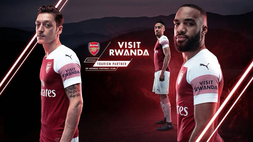 Rwanda signed a $44.3 million 3-year sleeve sponsorship deal with Arsenal in 2018. They made $88.3 million in Tourism directly from the deal in 2018 alone. Rwanda has just signed a 3-year sponsorship deal with PSG.