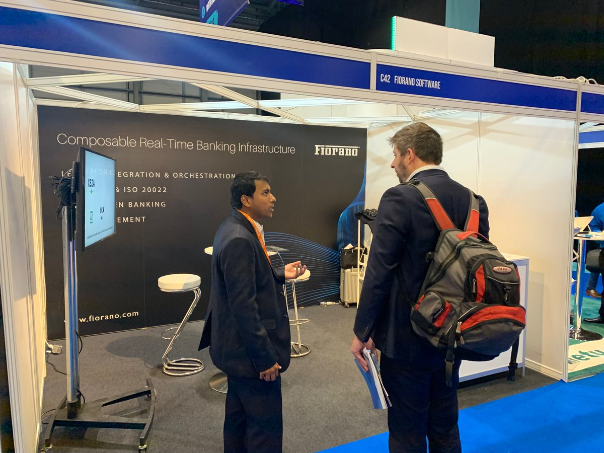 """We are back for the day 2 at #FintechConnect in London. Join us in 30 mins for an exciting Panel discussion on """"The Strategic Opportunities Afforded by Open Banking"""" moderated by Fiorano Open Banking Lead, Biju Suresh Biju at Track I - Digital Engagement. #FTC19 #openbanking"""