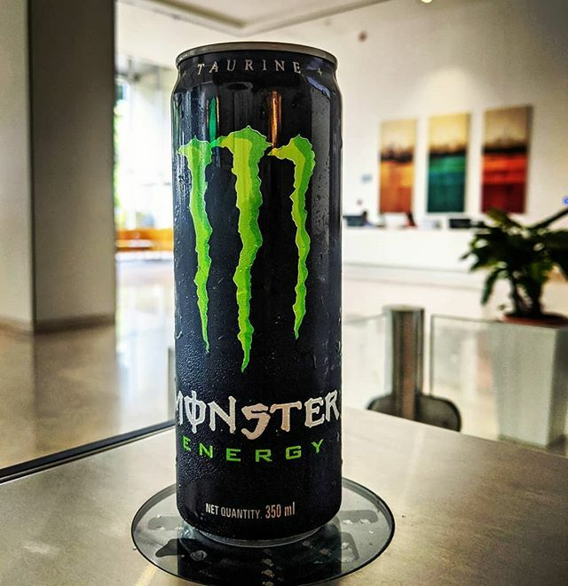I'll find a way to turn you into a monster 😈 . . . . . . . . @monsterenergy #energydrink #energy #drink #can #colddrink #lobby #redbull #taurine #caffeine #inositol #beast #pixel2 #shotonpixel2 #ifttt @professorgreen @example