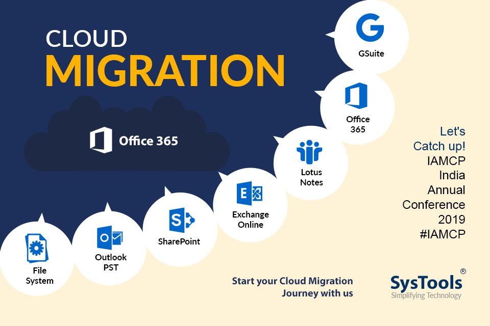 Meet team SysTools at IAMCP 2019. #SysTools #IAMCP #IAMCPIndia #Office365 #Microsoft #CloudMigration<br>http://pic.twitter.com/UGY4s70LaH