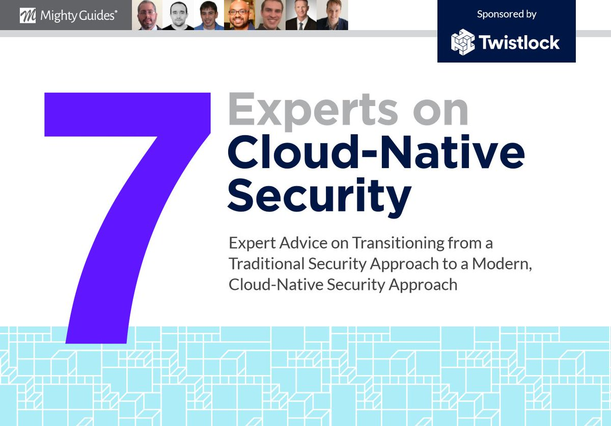 7 Experts on Cloud-Native Security.  Discover expert advice on transitioning from a traditional security approach to a modern, cloud-native #security approach. #cloud @Twistlockhttps://mightyguides.com/twistlock-7-experts-on-cloud-native-security/…