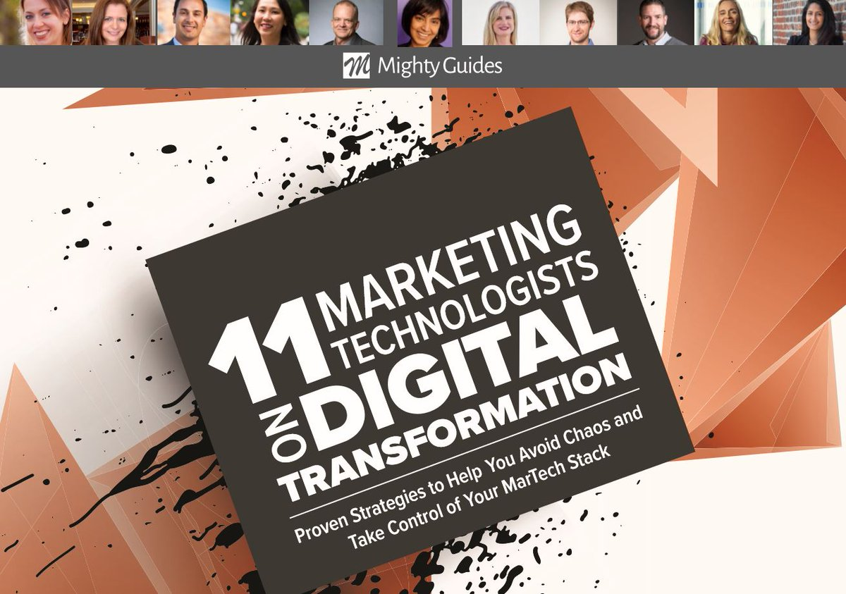 11 Marketing Technologists on Digital Transformation.  Discover proven strategies to help you avoid chaos and take control of your #MarTech stack. #digitaltransformation #marketingstrategy @Workfronthttps://mightyguides.com/workfront-11-marketing-technologists-on-digital-transformation/…