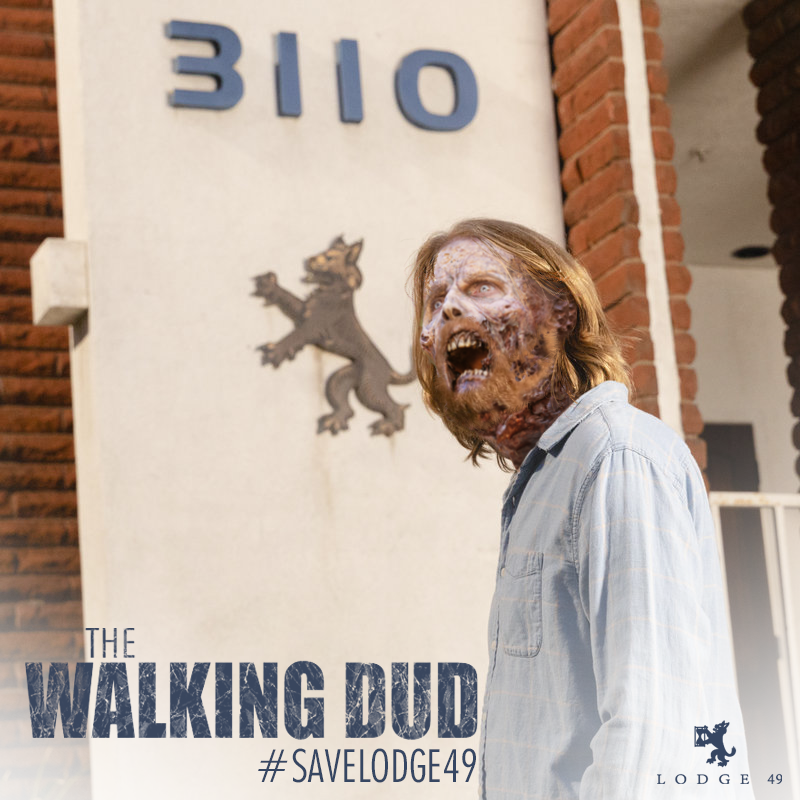 I'd encourage everyone to haunt the Wallking Dead / AMC posts...with this one too. #Lodge49 #SaveLodge49 #JoinLodge49