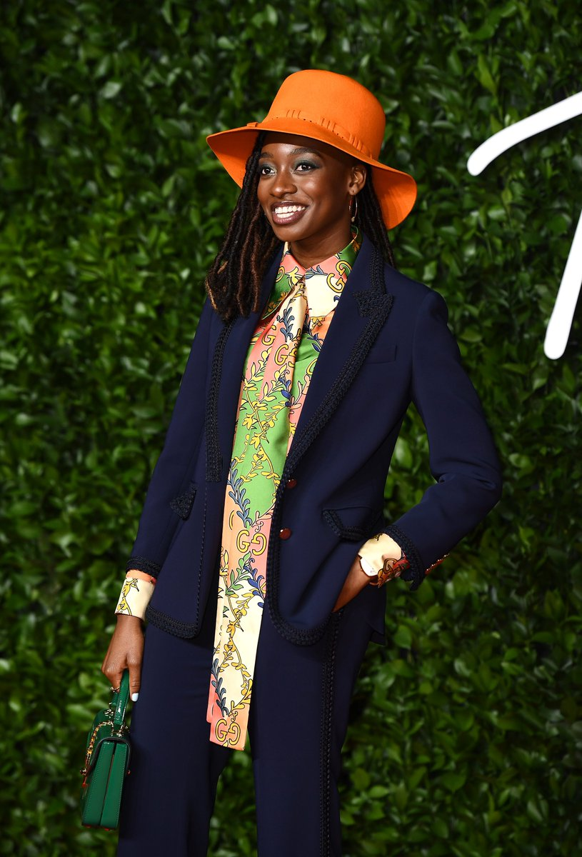The #FashionAwards 2019 opening act @littlesimz wearing @gucci. To see more highlights from the event on Monday 2nd December, visit bit.ly/34PQuWu