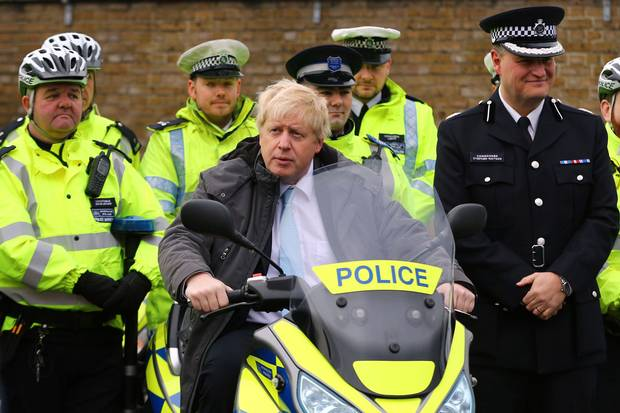 TRUTH.  When @Theresa_May announced she wud cut 21,000 police, @BorisJohnson told her it was a HUGE MISTAKE. As @MayorofLondon he fought with #Osbo nonstop so numbers were kept up! #boris got crime DOWN in London #BorisJohnson tough on crime!  Murder halved under #Boris #Crime