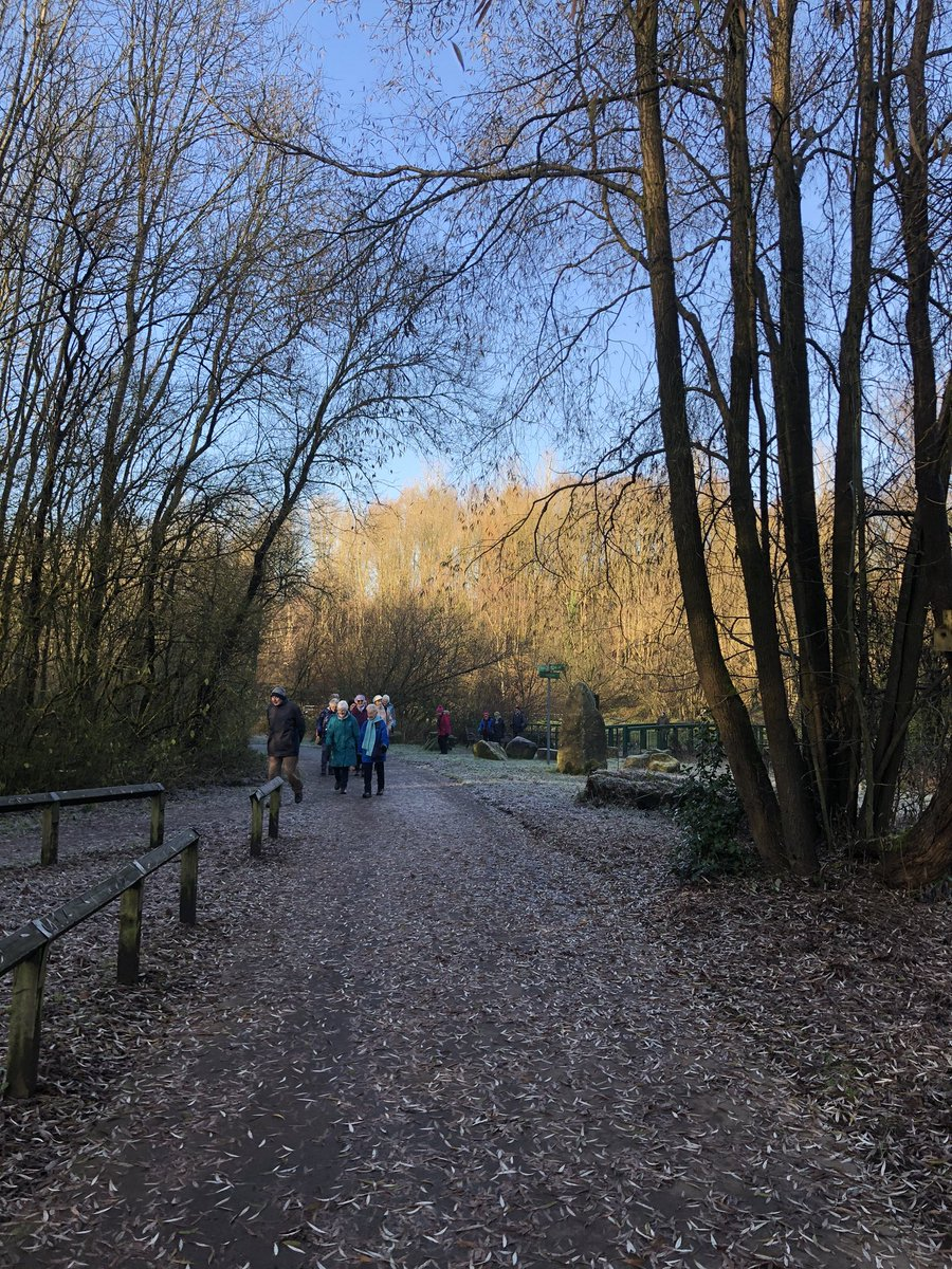 Beautiful crisp morning today at Clayton Vale. Perfect weather ☀️ for a walk /chat and then a☕️ and 🍪 Walks every Wednesday 10am meeting at visitors centre entrance to Clayton Vale M40 1GR @parks_great @MCRActive @ky1iew @JonAtkin