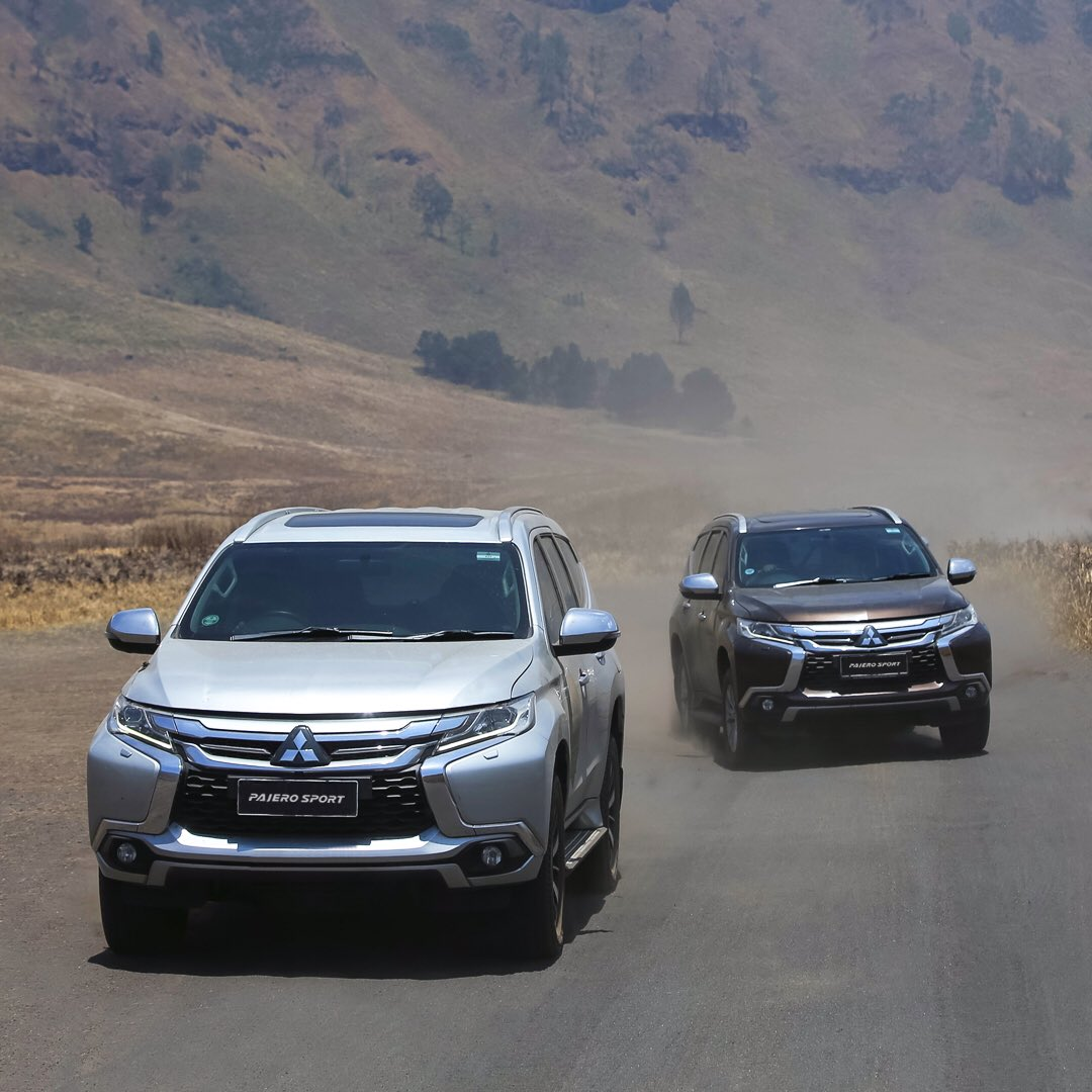 The only challenger for us is ourselves alone 😏  #MitsubishiMotors #PajeroSport