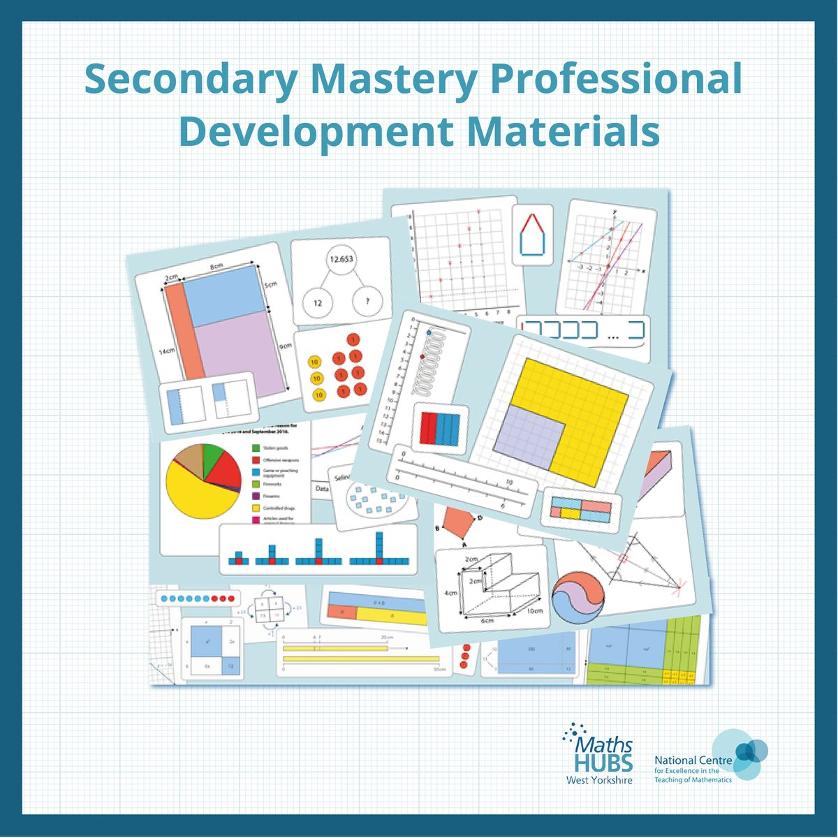 🔹 The @NCETM have worked with classroom-based teachers within the Maths Hubs network to produce a range of #masterymaterials. These offer a detailed description of the key themes and big ideas of the curriculum! 🔹 Read more about them here: https://t.co/fTG7AGOkvX   #MathsHub
